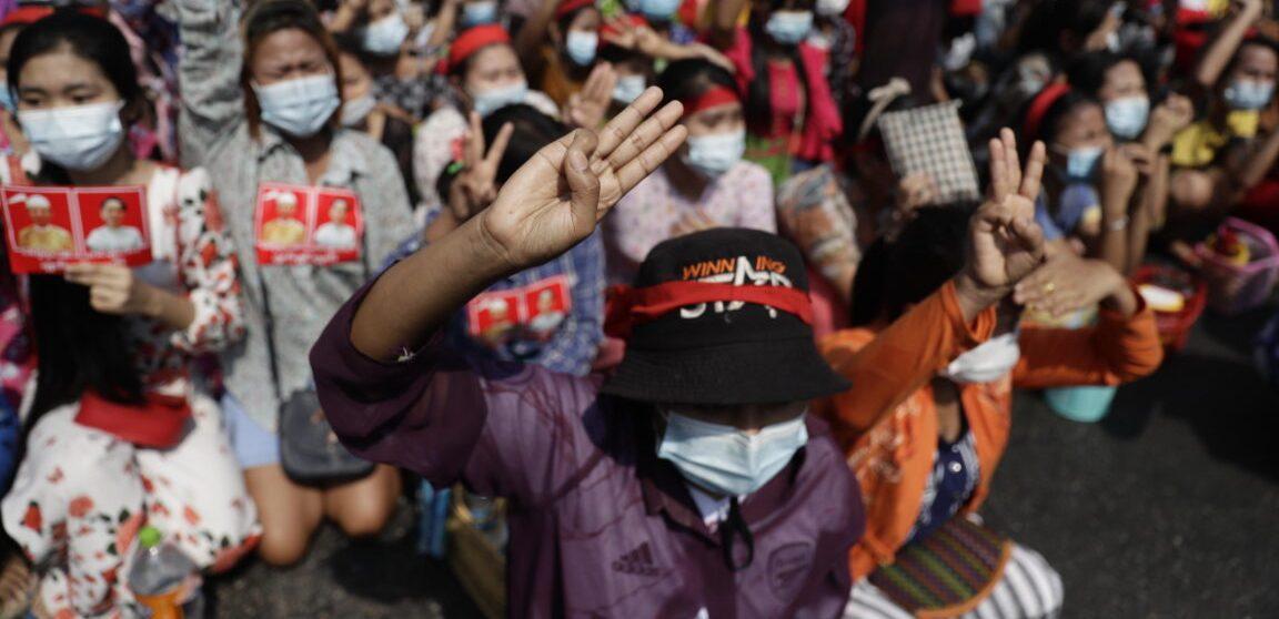 Myanmar, coup d'ètat